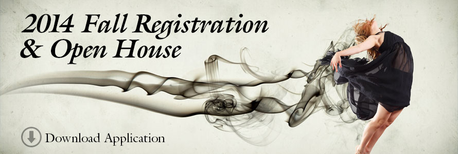 Download the 2014 Fall Registration Application