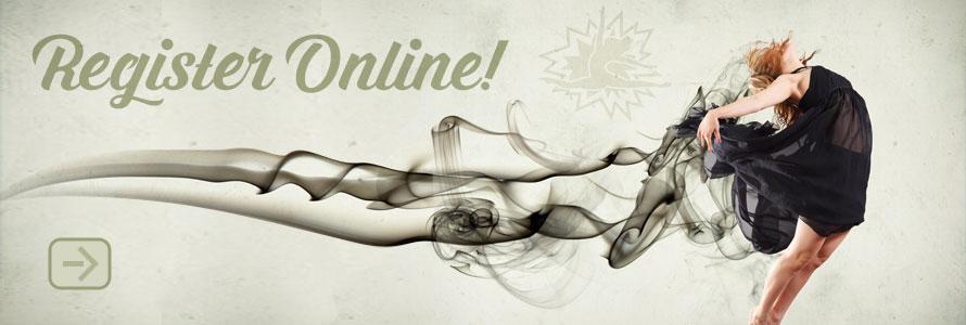 Register online!